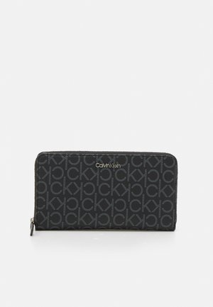 WALLET MONOGRAM - Lommebok - black