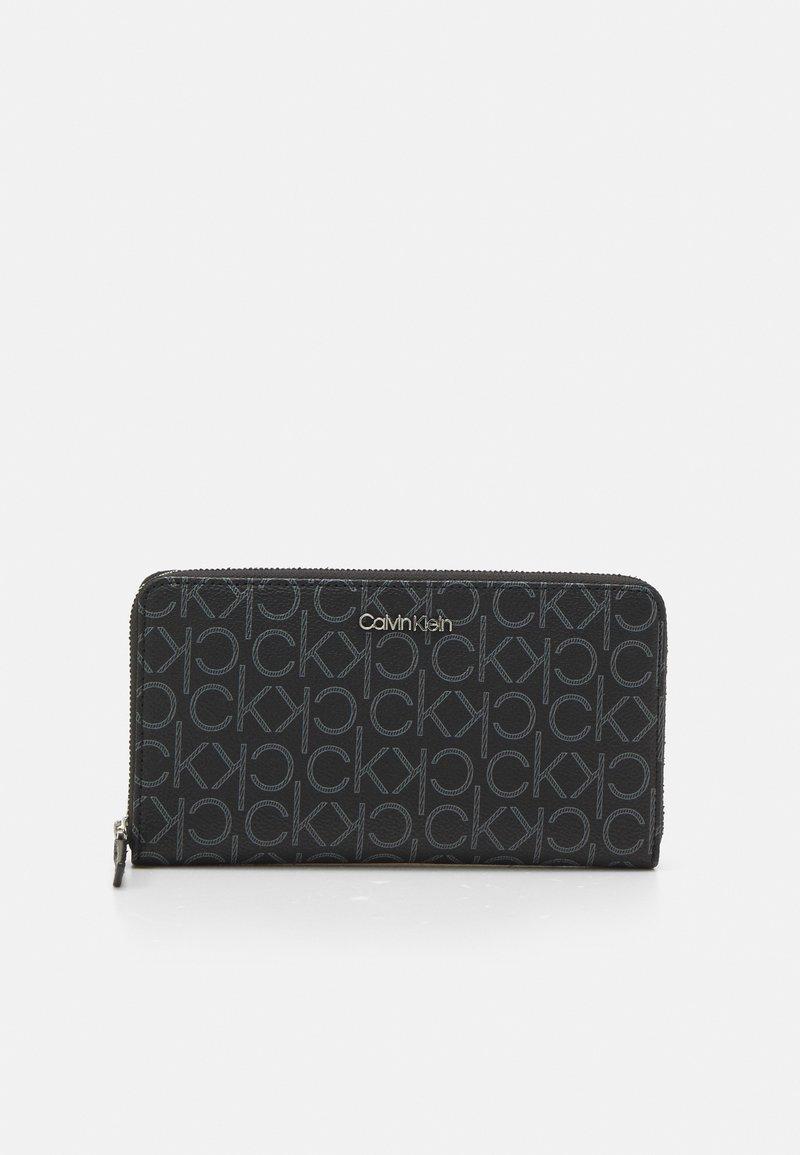 Calvin Klein - WALLET MONOGRAM - Lommebok - black