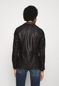 Gipsy - SALLIE - Leather jacket - black - 3