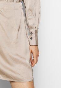 DESIGNERS REMIX - GIULIA SHORT DRESS - Cocktail dress / Party dress - beige - 5