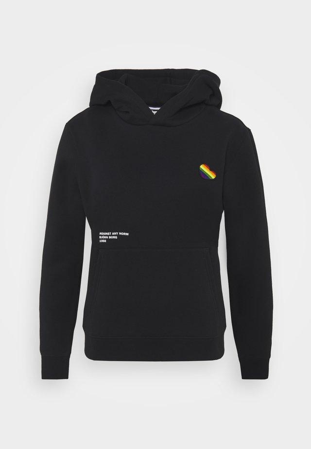 MILLA HOOD - Sweater - black