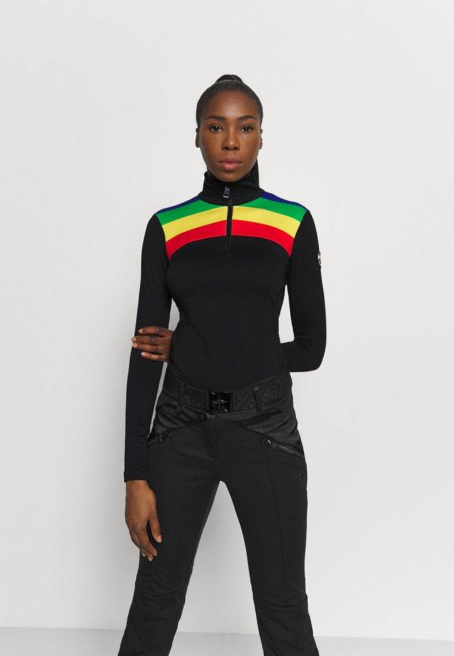 BESSI - Maglietta a manica lunga - black