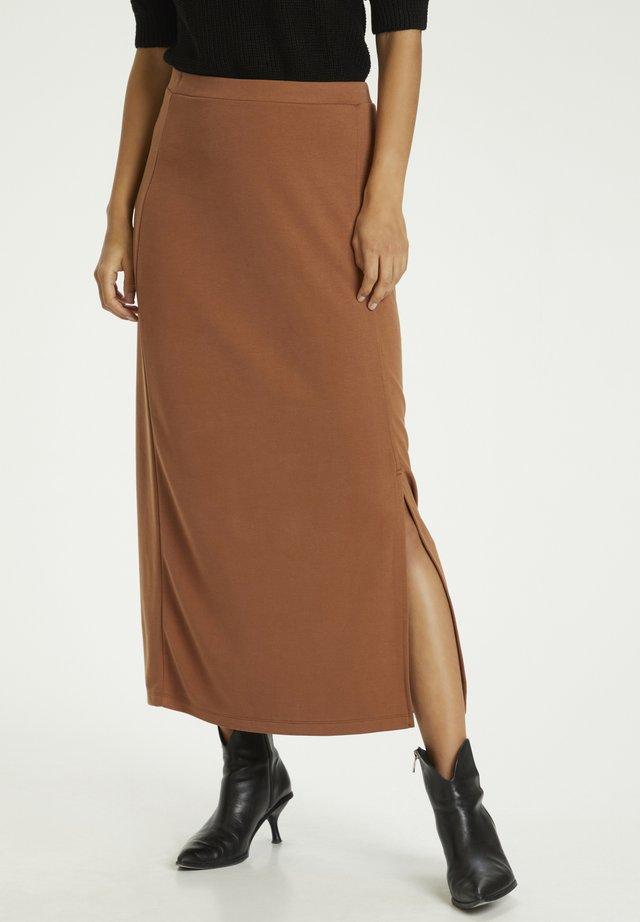 Jupe trapèze - light brown