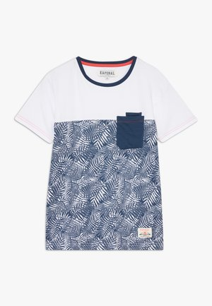Print T-shirt - blueus