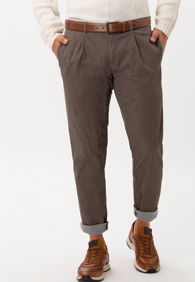 STYLE PAUL - Trousers - toffee