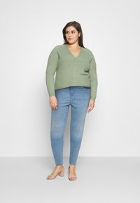 Levi's® Plus - PLUS MILE HIGH SS - Jeans Skinny Fit - galaxy hazy days - 1