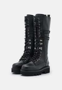 Furla - RITA ARMY HIGH BOOT - Lace-up boots - nero - 2