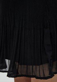 Minus - RIKKA - A-line skirt - black - 3