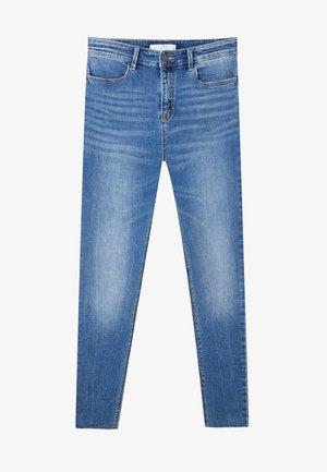 MIT HOHEM BUND UND RISSEN  - Skinny džíny - light blue