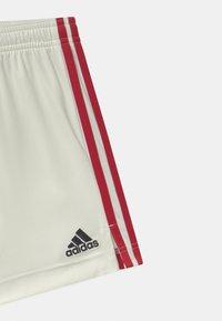 adidas Performance - RBFA BELGIEN A UNISEX - Sportovní kraťasy - off white - 2