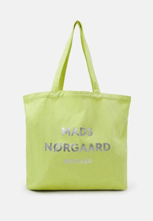 BOUTIQUE ATHENE - Tote bag - lime/silver
