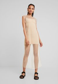 Weekday - MOMA DRESS - Maxi šaty - beige - 1