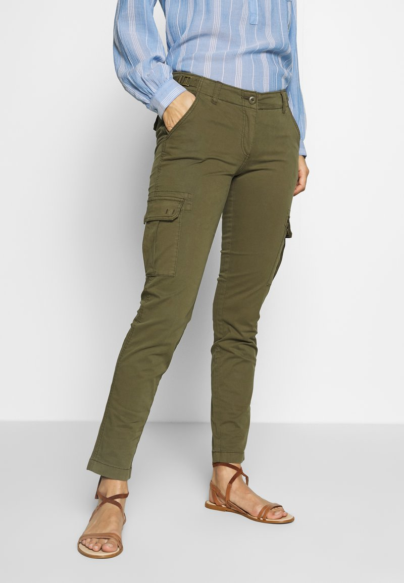 Napapijri - MARIN - Pantalon classique - green way