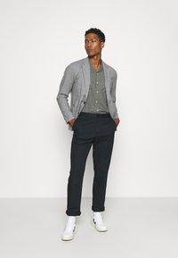 Abercrombie & Fitch - Blazer jacket - grey - 1