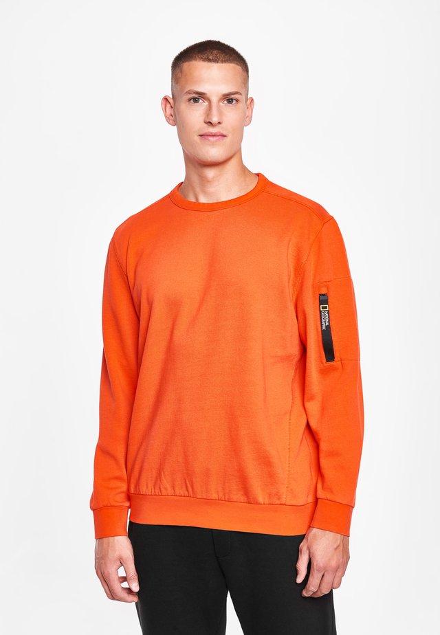 Sweatshirt - pumkin orange