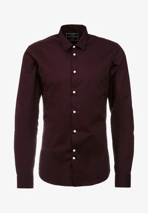SLIM FIT  - Skjorta - bordeaux