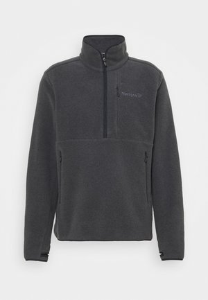 WARM HALFZIP  - Fleece jumper - caviar melange