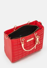River Island - MED BOXY - Across body bag - red