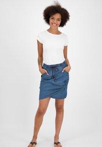 alife & kickin - LUCYAK  - Wrap skirt - denim - 1