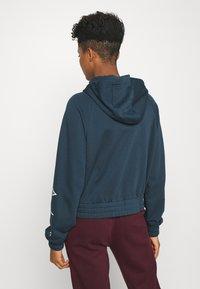 Nike Sportswear - Zip-up hoodie - deep ocean/white - 2