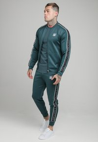 SIKSILK - CRUSHED  JACKET - Giubbotto Bomber - ocean green - 1