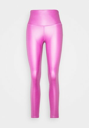 LUXE FINISH LEG - Legging - purple