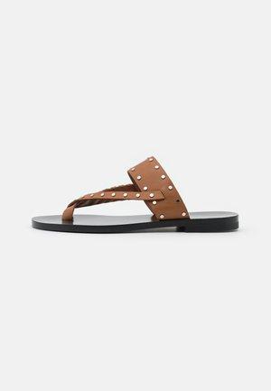 WIKI - Sandály s odděleným palcem - beige