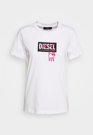 T-SILY-E52 T-SHIRT - Print T-shirt - white