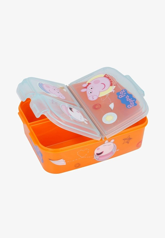 MIT 3 FÄCHERN - Lunch box - orange
