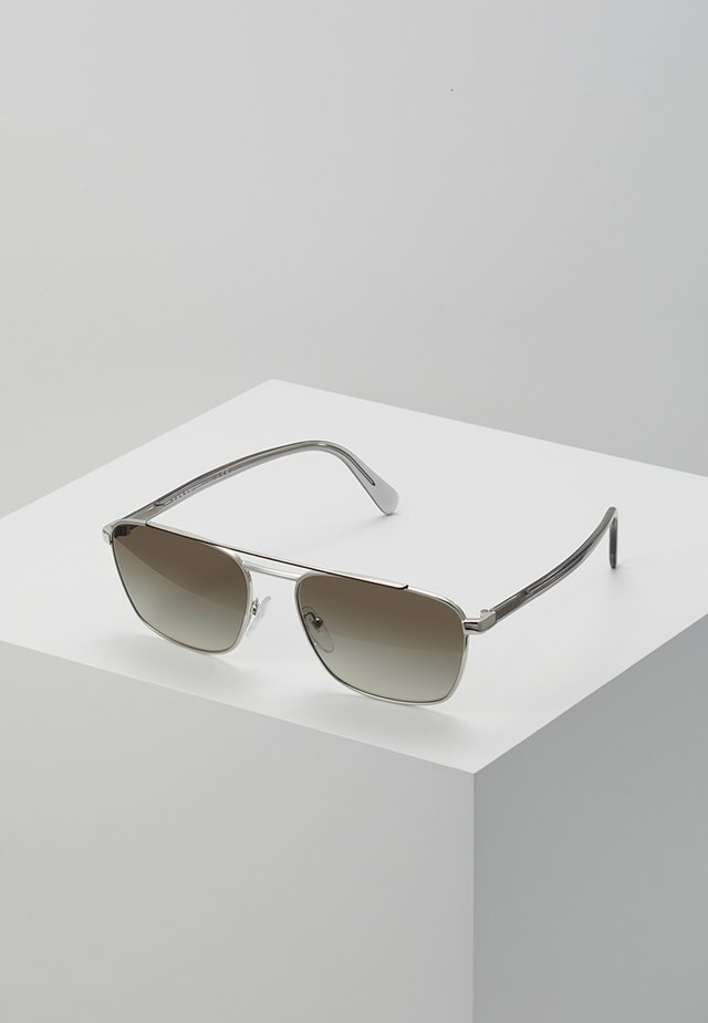 Sonnenbrille - brown/silver-coloured