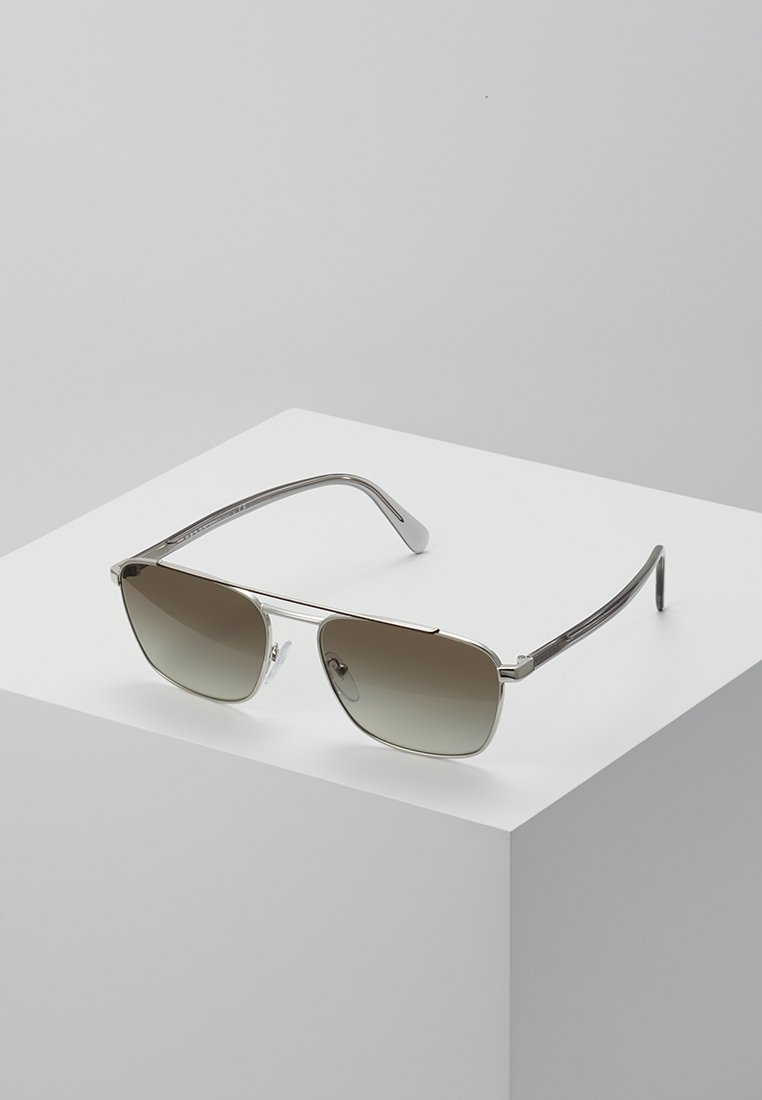 Prada - Sonnenbrille - brown/silver-coloured