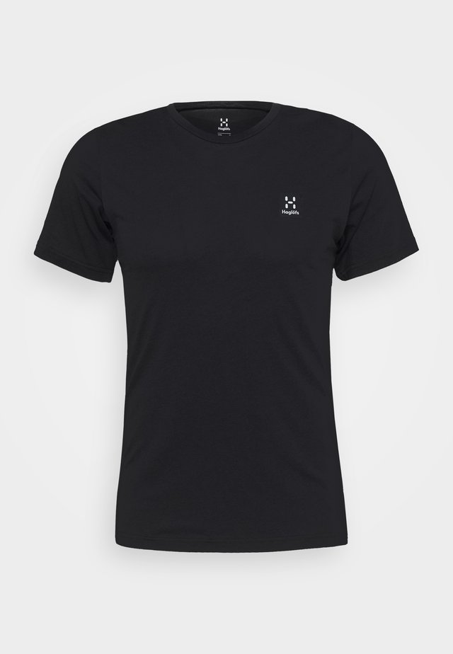 TEE MEN - Basic T-shirt - true black