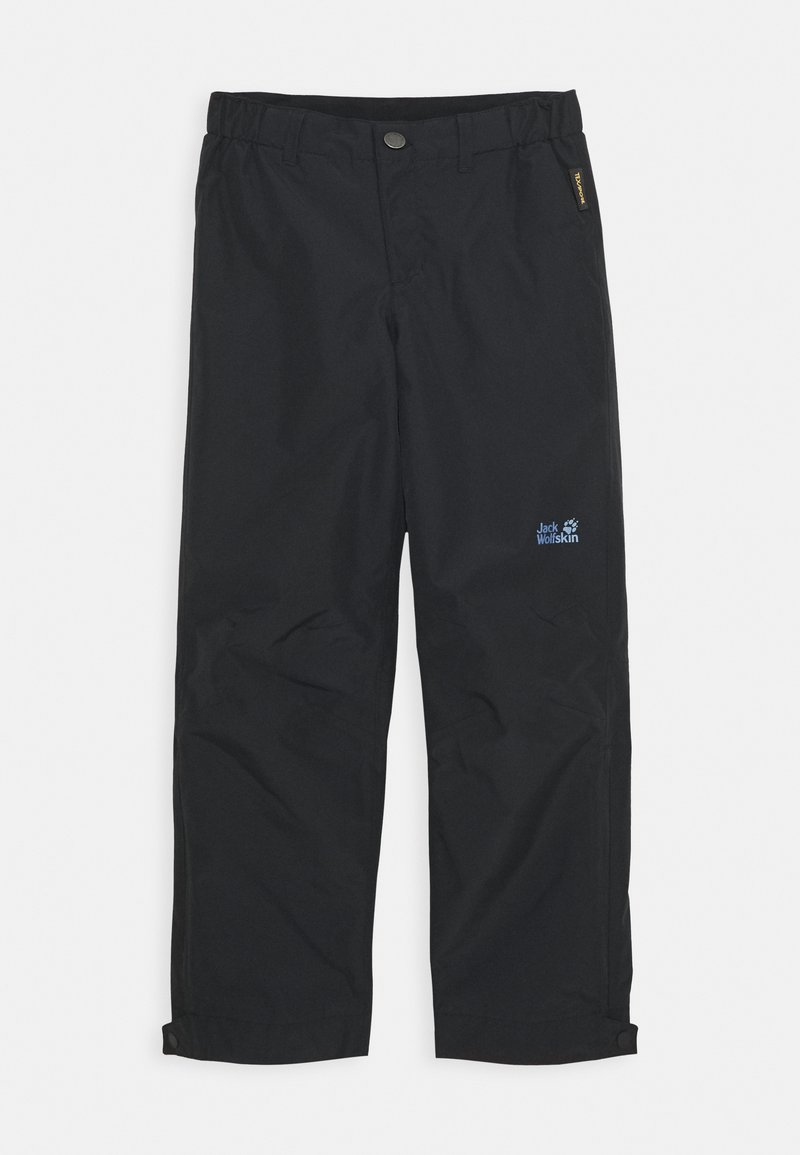 Jack Wolfskin - SNOWY DAYS PANTS KIDS - Outdoor trousers - black