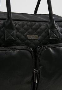 Kidzroom - VISION OF LOVE DIAPERBAG - Baby changing bag - black - 7
