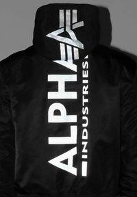 Alpha Industries - Bomber Jacket - black reflective - 4