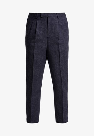 TROUSER - Tygbyxor - charcoal