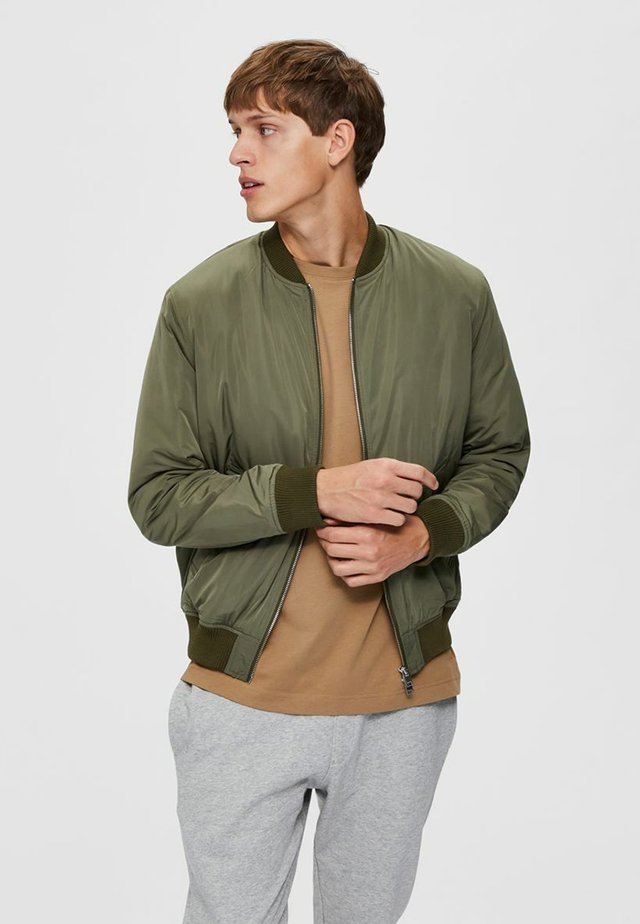 Bomber Jacket - dusty olive