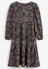 Next - PRINTED - Robe d'été - mottled black - 1