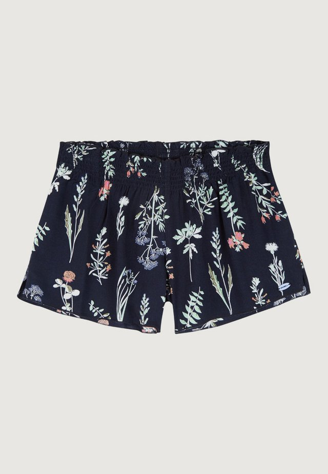 LACEY  - Shorts - blue aop w/ pink or purple