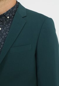 Lindbergh - PLAIN MENS SUIT - Kostuum - dark green - 11