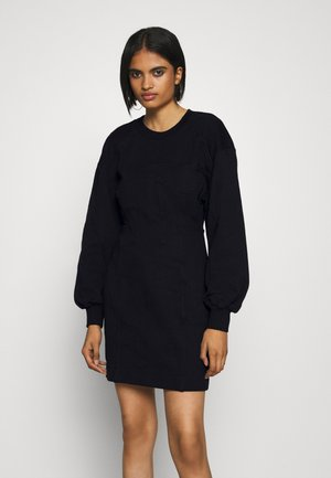 CORSETT DRESS - Day dress - black