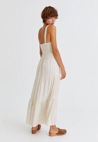 PULL&BEAR - Maxi dress - mottled beige - 1