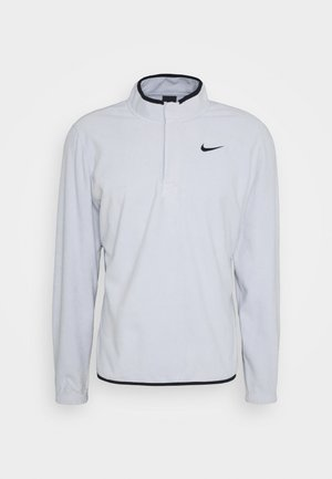 THERMA VICTORY HALF ZIP - Fleecová mikina - sky grey/black