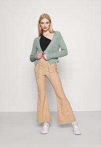 Trendyol - GÜL KURUSU - Cardigan - mint - 1