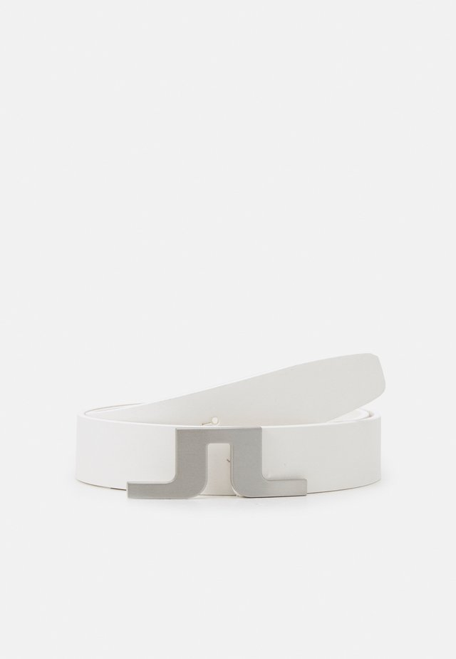 BRIDGER GOLF BELT - Cintura - white