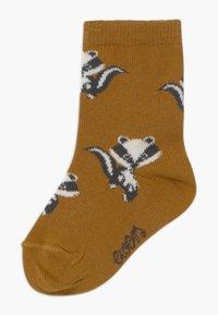 Ewers - BADGERS 3 PACK - Socks - grau/toffee - 1