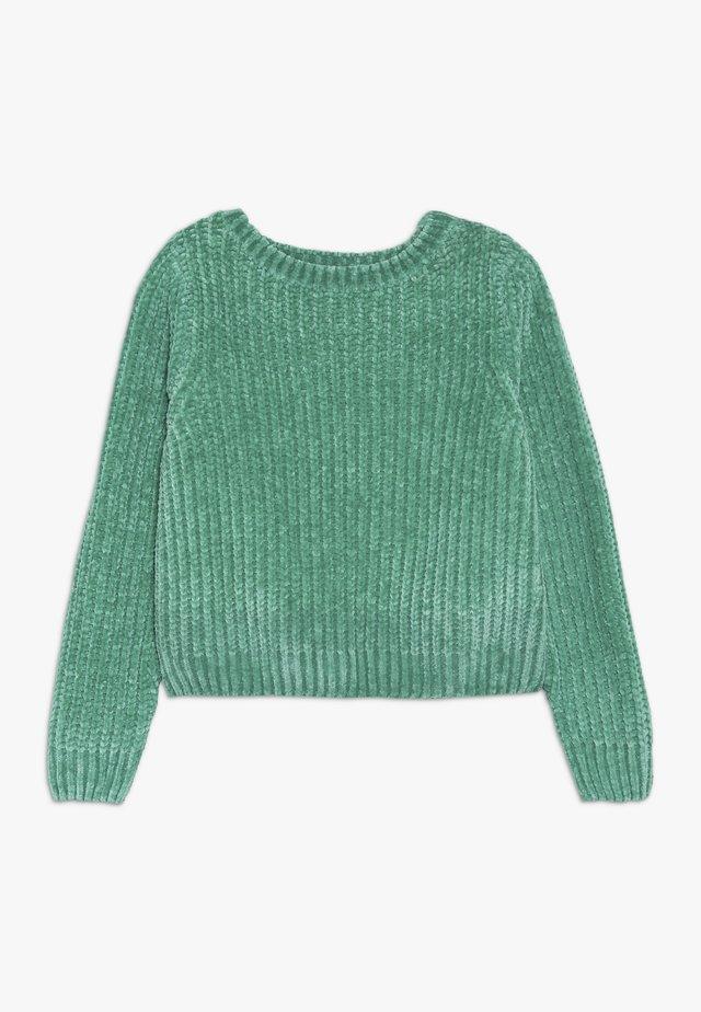 NLFOCAMILLE - Pullover - emerald