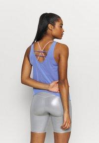 Nike Performance - TANK BREATHE - Tekninen urheilupaita - sapphire - 2