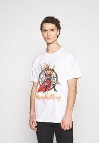 Diamond Supply Co. - NO MERCY TEE - Printtipaita - white - 0