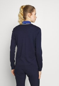 Polo Ralph Lauren Golf - V-NECK-LONG SLEEVE-SWEATER - Top s dlouhým rukávem - french navy/white - 2